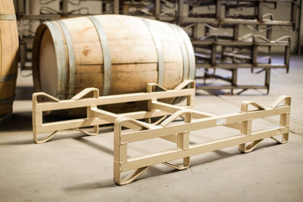 Barrel & Barrel Rack